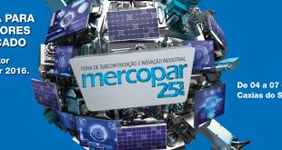 Mercopar acontecerá de 04 a 07 de outubro de 2016