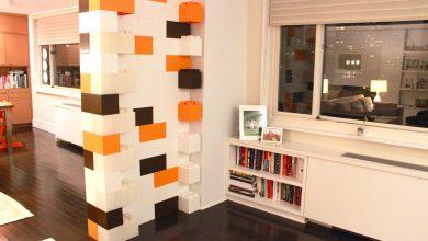Foto de Lego para gente grande: blocos formam paredes