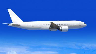 Foto de Material plástico é utilizado para construção de avião
