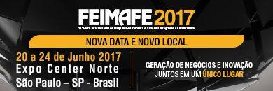 Foto de FEIMAFE 2017 começará nesta terça-feira com muitas atrações para os visitantes e compradores do segmento da indústria