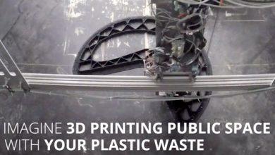 Foto de Lixo plástico tem novo destino com ajuda da impressora 3D