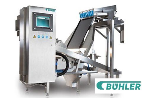 Classificador óptico SORTEX E PolyVision™ da Bühler oferece remoção de polímeros com excelência