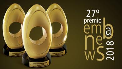 Foto de Plástico Virtual esteve presente na premiação Embanews 2018