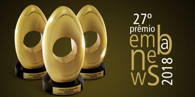 Plástico Virtual esteve presente na premiação Embanews 2018