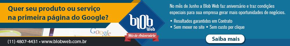 Promoção Blobweb