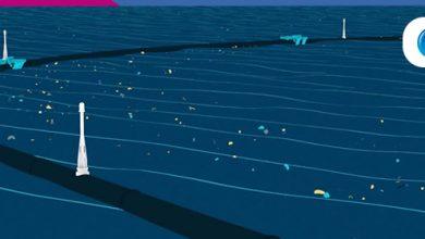 Foto de Universitário cria serpente gigante para retirar plásticos do oceano