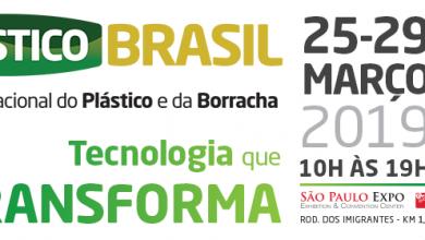 Foto de Plástico Brasil ocorre entre os dias 25 e 29 de março de 2019