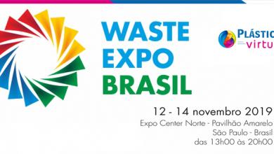 Foto de Waste Expo Brasil 2019 programada para 12 de novembro