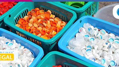 Foto de Programa supera marca e recolhe mais de 200 milhões de tampinhas plásticas